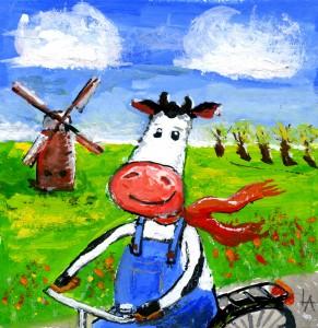 Studio LennArt - Biking Cow v2