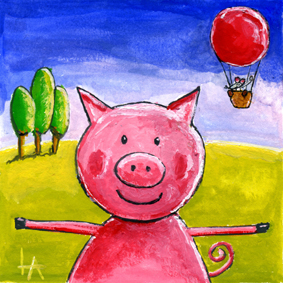 Studio LennArt - Happy Pig 72dpi