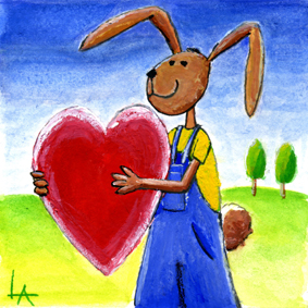 Studio LennArt - Heart Hare 72dpi